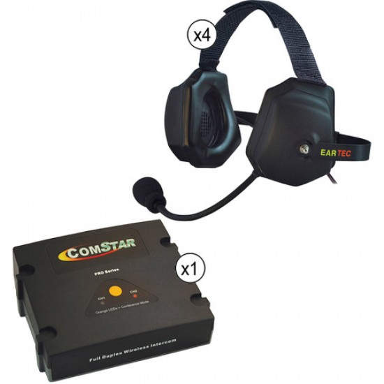 4-user ComStar XT  XTreme Wireless Headset